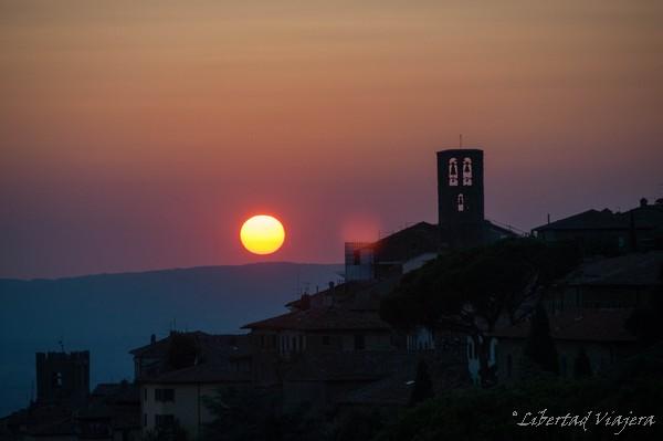 Bajo el sol de Cortona