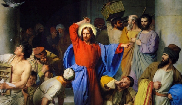 Jesus Cleansing The Temple