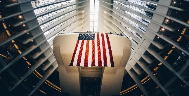 The Flag Is A Coffin Veil