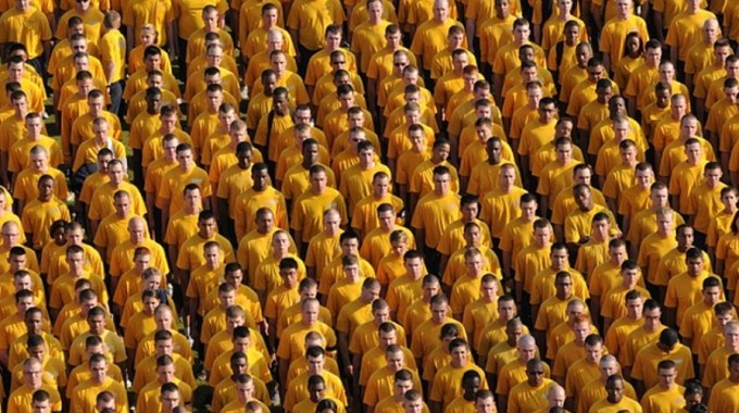 Group YellowShirts