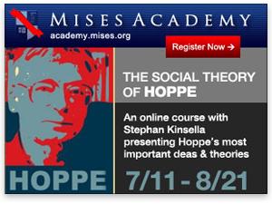 Mises Academy: Stephan Kinsella teaches The Social Theory of Hoppe