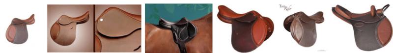 design selle cuir