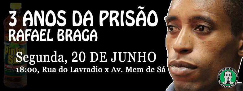 Rafael Braga - ato 2 anos