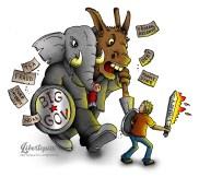 Election, libertarian, cartoons, American Politics