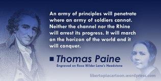 Rose Wilder Lane, libertarian, ancap, voluntaryism, meme, Thomas Paine, quote