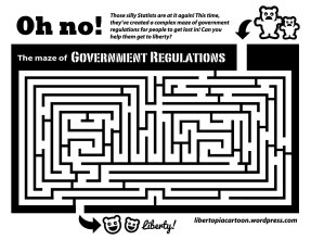 maze, government regulation, coloring page, craft, kids craft, adult coloring, libertarian, art, illustration, lineart, awesome artwork