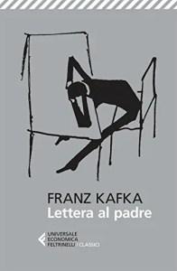 Copertina del libro Lettera al padre di Franz Kafka (il disegno è un autografo di Kafka)