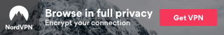 NordVPN 320x50 Banner Mountains