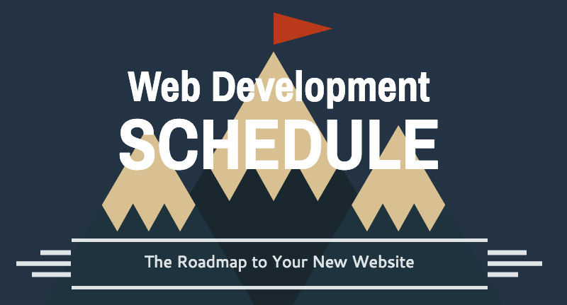 web development schedule