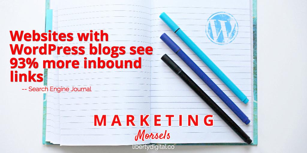 wordpress blogs get links