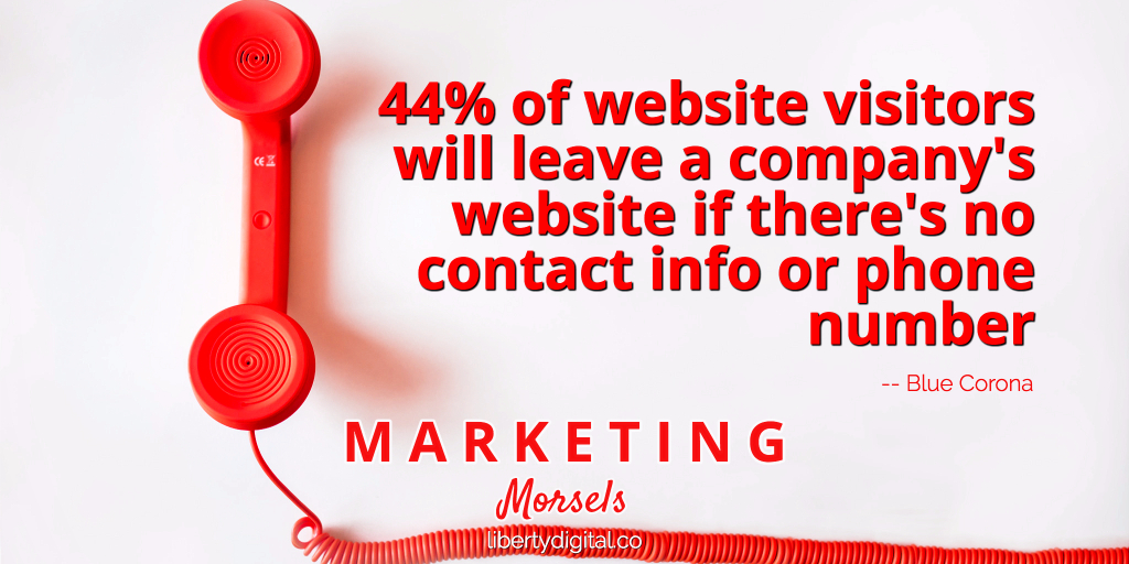 Include Contact Information