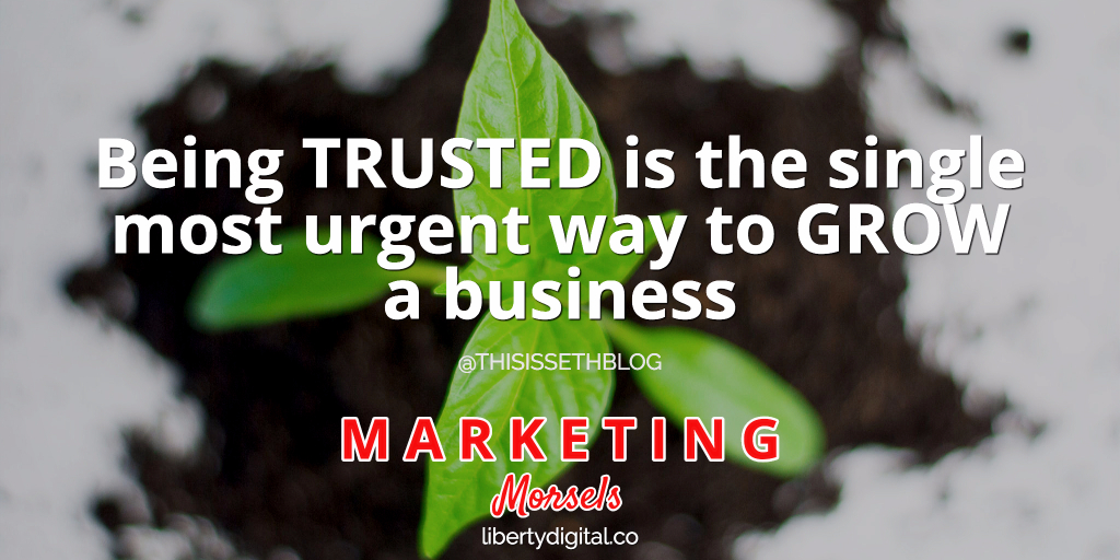 trust leads to growth
