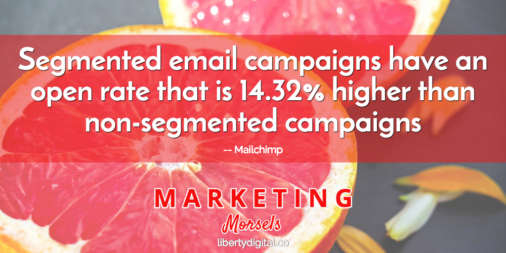 segmented email campaigns marketing morsels