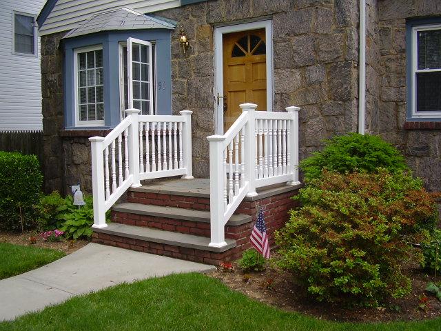 Exterior Wood Handrail