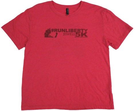 #runliberty red