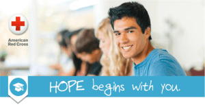 American Red Cross Hope Begins with You