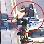 VIDEO: Thug Who Attacks Two Female Officers Is Taken Down By Heroic Teen