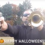 HAPPY HALLOWEEN! The Addams Family Theme Song On Trumpet & GUN