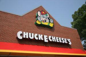 Exterior of Chuck E. Cheese's restaurant. Source. hdwalls.xyz