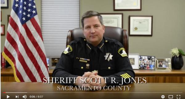 Sheriff Scott Jones - Screen Capture YouTube