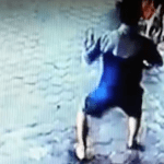 WATCH: Instantaneous 'Dad Reflexes' Save Mother And Child's Life