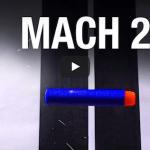 WATCH Nerf Gun Meet Mighty Air Compressor: 2X Speed Of Sound!!!