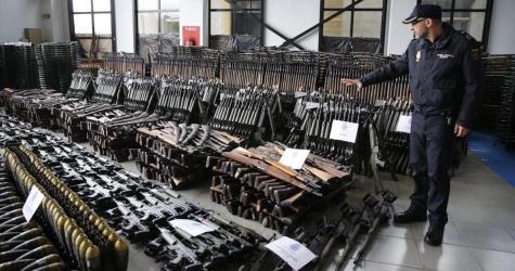 WARNING: 10,000 Weapon Terrorist Arsenal Seized In Europe