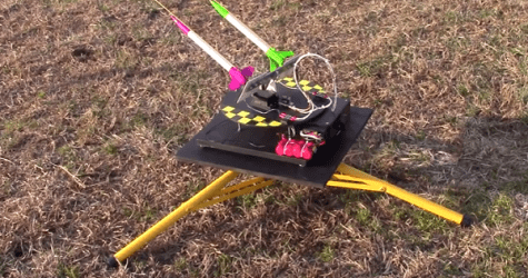 DIY:  Watch This Backyard Anti-Aircraft Defense System