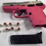 LOADED!  Hot Pink Gun Confiscated at Richmond International Airport, Woman Arrested