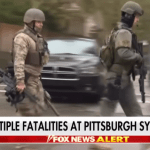 Anti-Gunners Blame Rifle for Pittsburgh, But Cops Had Them, Too