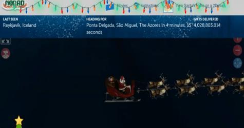 Tracking Santa And Fabricating A Legacy
