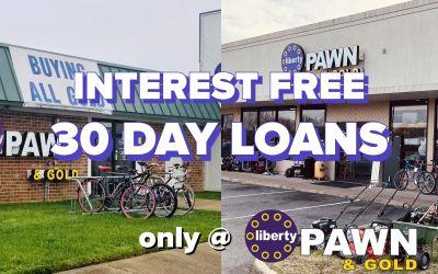 30 Day Interest FREE Loans