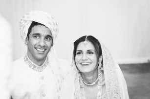 Saira and Iffy London wedding