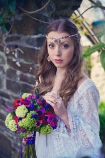 Clovelly House Vintage styled photo shoot wedding blue fizz events