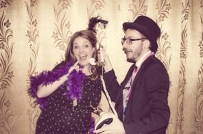 Charity Vintage photo booth - St Luke's Hospice Puttin on The Glitz Plymouth 13