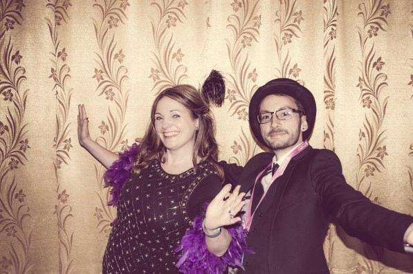 Charity Vintage photo booth - St Luke's Hospice Puttin on The Glitz Plymouth 14