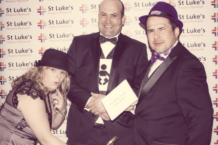 Charity Vintage photo booth - St Luke's Hospice Puttin on The Glitz Plymouth 32