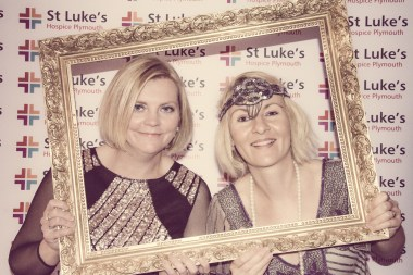 Charity Vintage photo booth - St Luke's Hospice Puttin on The Glitz Plymouth 49
