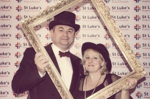 Charity Vintage photo booth - St Luke's Hospice Puttin on The Glitz Plymouth 52