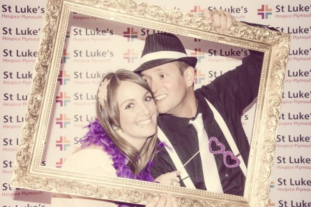 Charity Vintage photo booth - St Luke's Hospice Puttin on The Glitz Plymouth 56