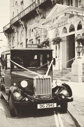 The Duke of Cornwall Hotel Plymouth Vintage styled wedding photography shoot Devon 95
