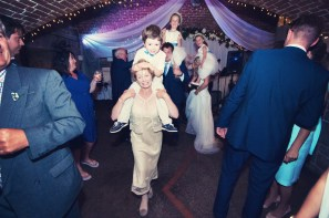 Jodie and Will wedding Polhawn Fort - Cornwall wedding photographer dancing