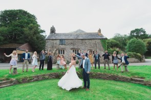 Liberty Pearl Cornish wedding Cornwall photographer Pengenna Manor 7
