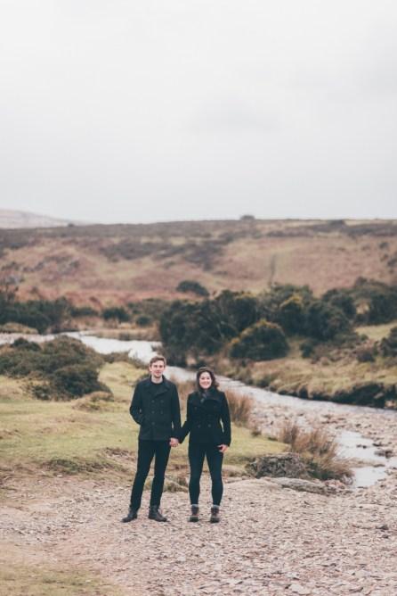 Dartmoor Widgery Cross enagement pre wedding photo shoot web-26