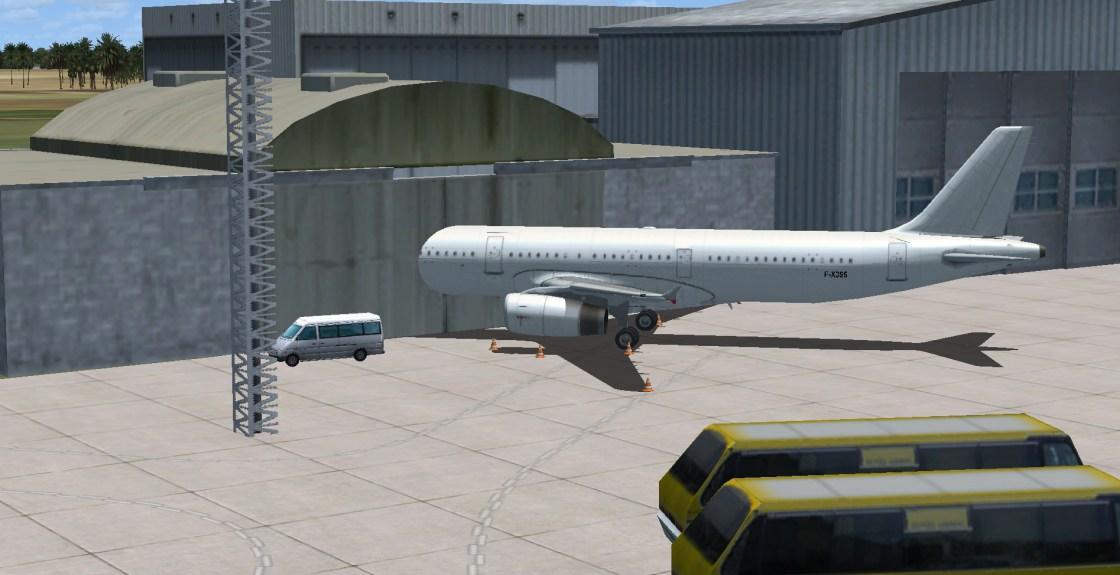 GSX/ parking hangar