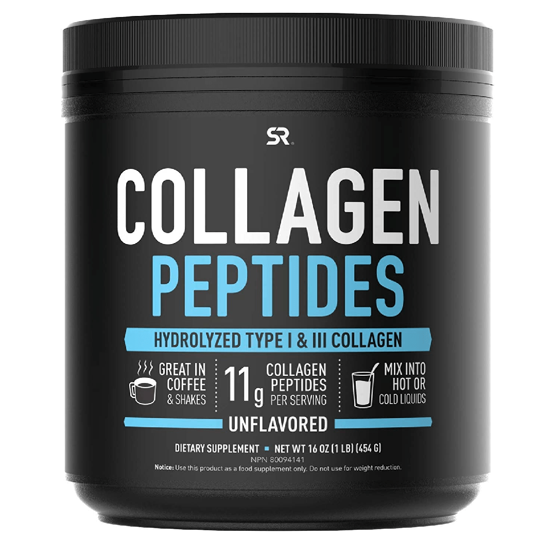 Collagen Peptides Powder Hydrolyzed for Better Collagen Absorption Non-GMO Verified Certified Keto Friendly and Gluten Free Unflavored