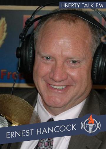 Ernest Hancock host on Liberty Talk FM