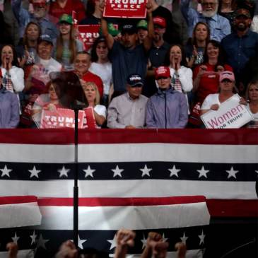 Legal Votes Only Trump Election 2020 Rally Crowd FEATURED