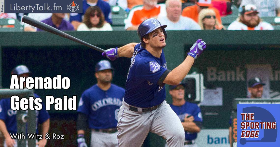 Arenado Gets Paid