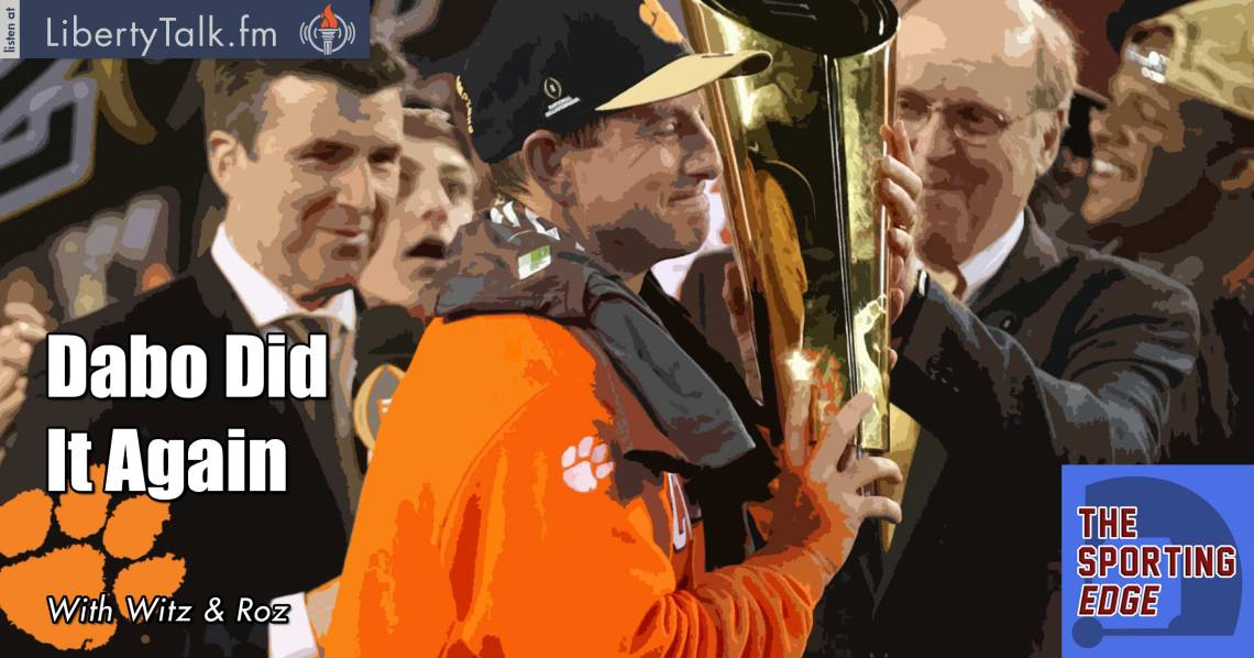 Dabo Did It Again - The Sporting Edge